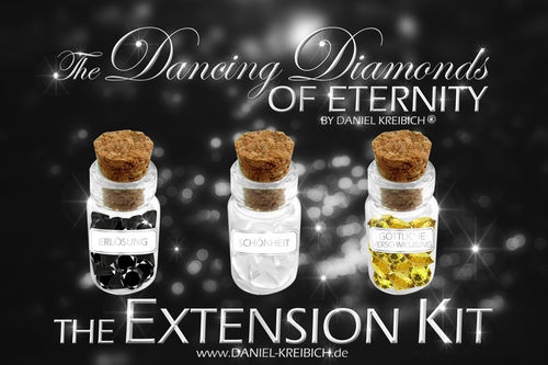 The Dancing Diamonds EXTENSION KIT - ERWEITERUNGSSET Trio zum Basic Set (TV PRODUKT)