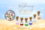 The Dancing Diamonds DELUXE SET   My Personal Amulet DELUXE SET  SONDERPREIS 99 EUR statt 170
